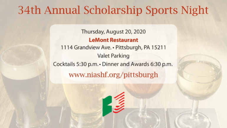 34th Annual Scholarship Sports Night