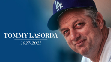 Another true icon gone, Tommy Lasorda